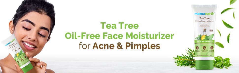Tea Tree Oil-Free Face Moisturizer