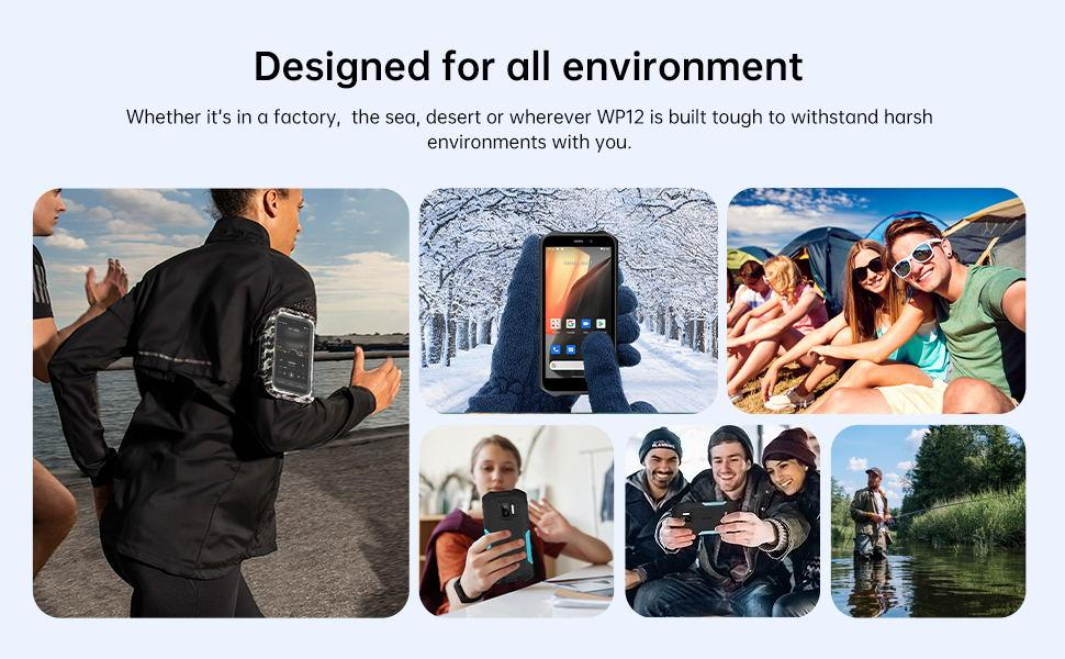 RUGGED SMARTPHONE OUKITEL WP12 FOR WHO