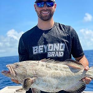 black grouper beyond braid braided fishing line