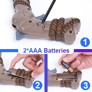 Pistol Battery Installation