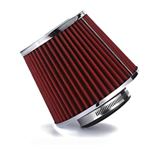 Cone Air Filter Red