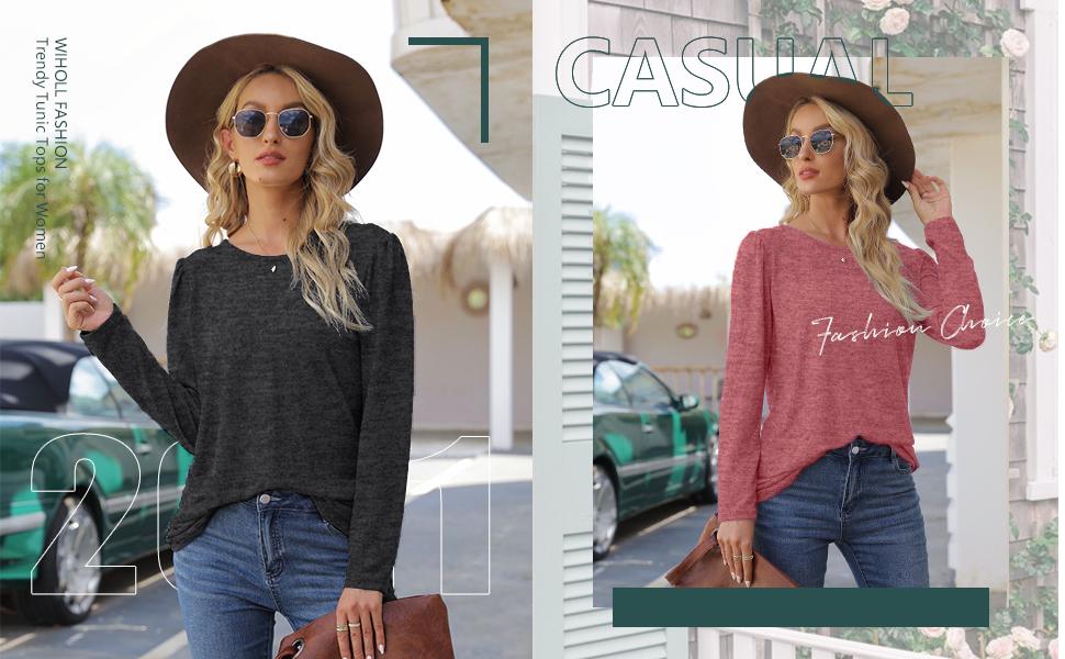 Womens long sleeve sweater trendy
