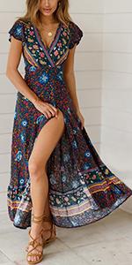 women summer dress casual summer dress women short sleeve dress
