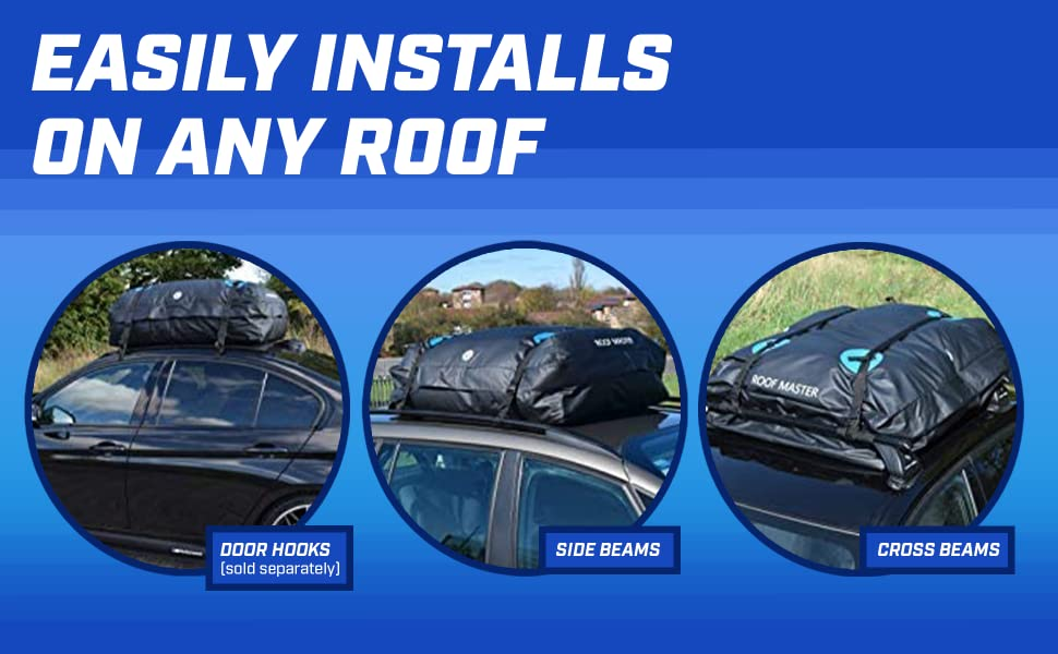easily installs on any roof