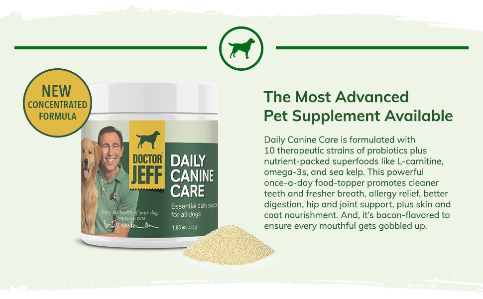 Daily Canine Care - Most Advanced Pet Supplement