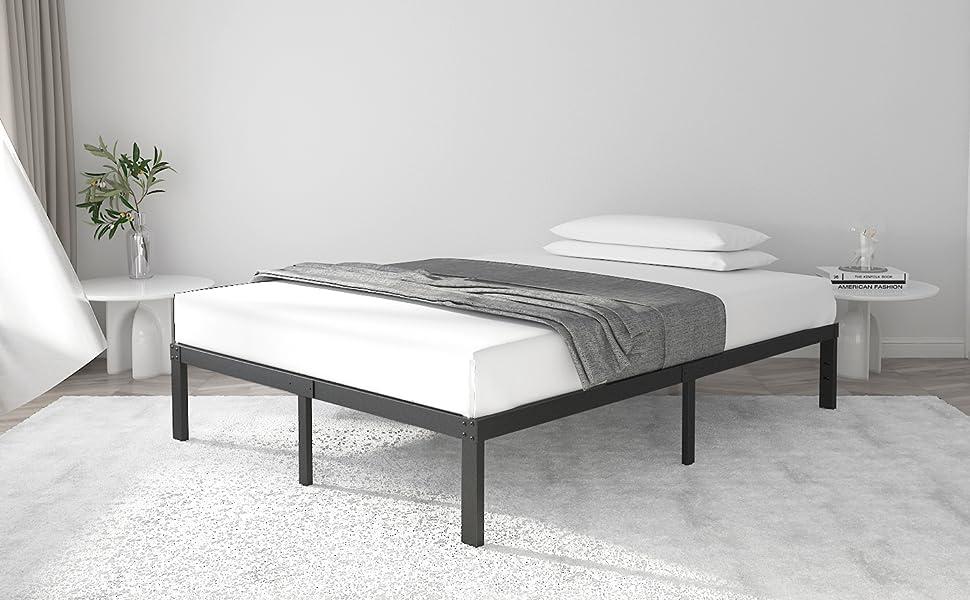 14 Inch Metal Platform Bed Frame