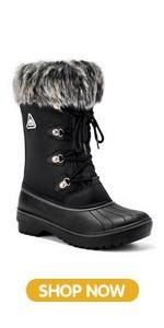 Aleader Snow Boots women
