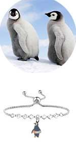penguin bangle bracelet penguin gifts
