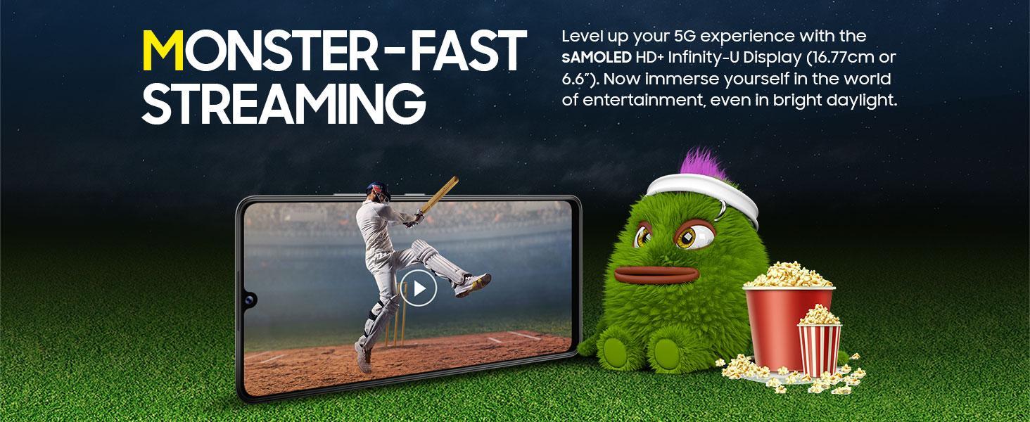 Monster fast