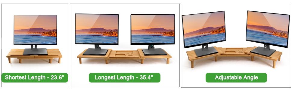 Adjustable Length & Angle