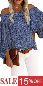 off shoulder shirts