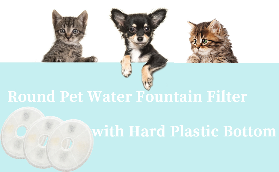 Round Fountain Filters