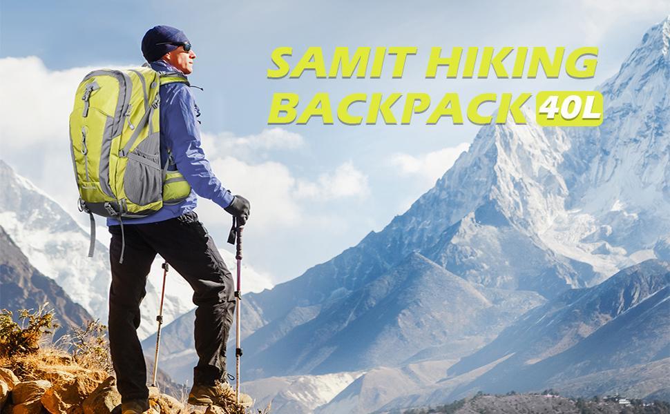 Hiking Backpack 40L Camping Backpack Hiking Daypack Lightweight Travel Backpack