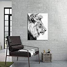Lion Art Wall Decor Picture