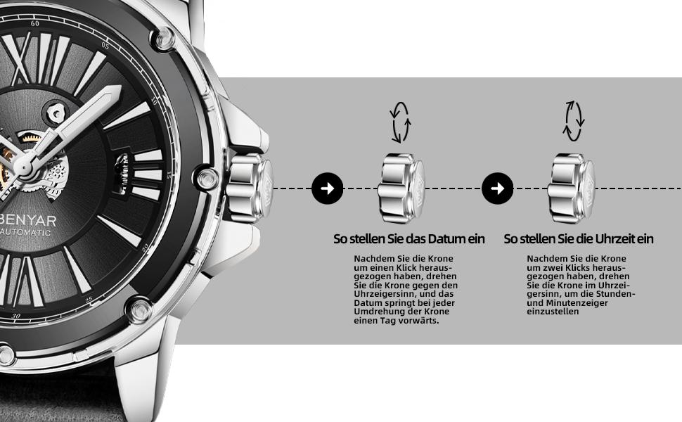 benyar montre homme