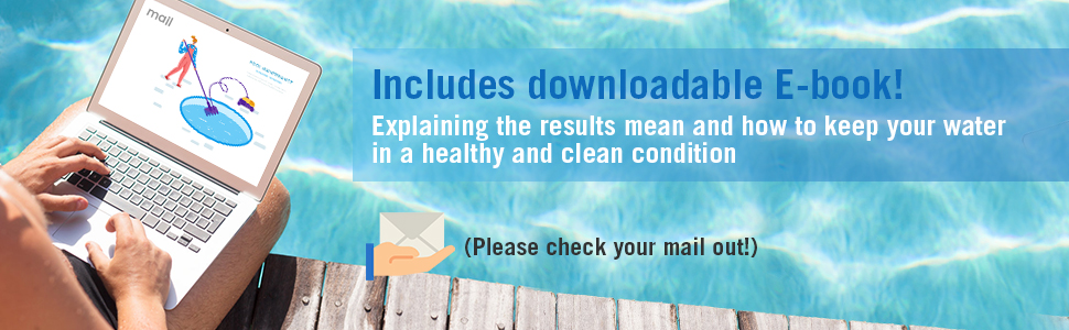 pool spa test strips