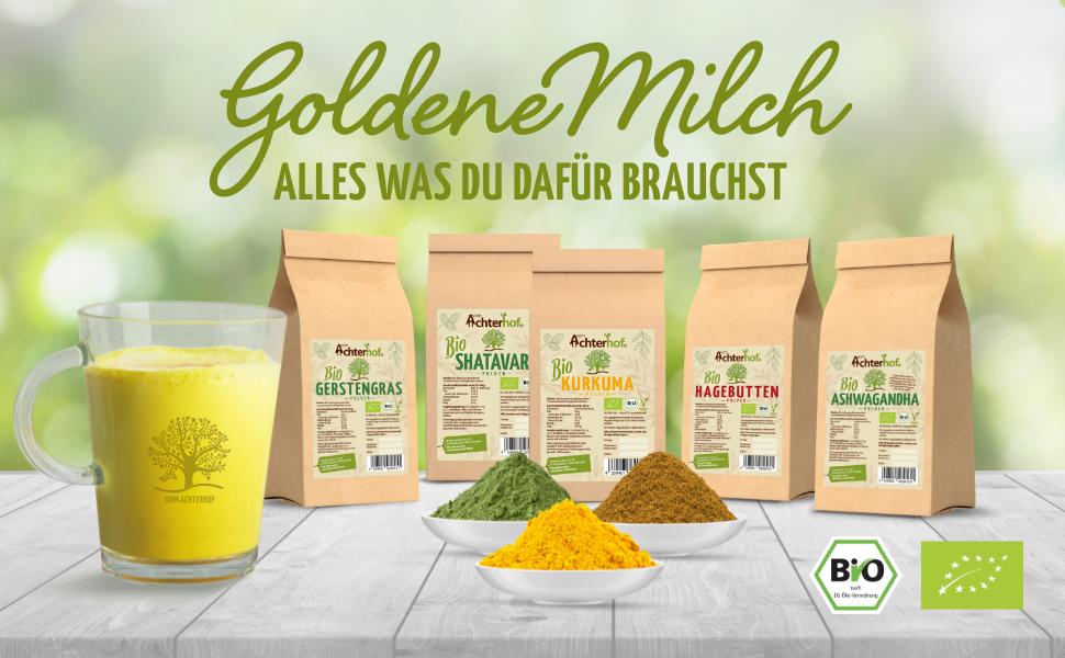 Goldene Milch - alles was du dafür brauchst