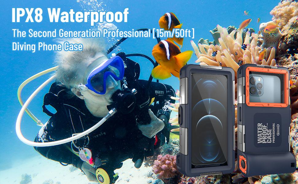 Waterproof iPhone case
