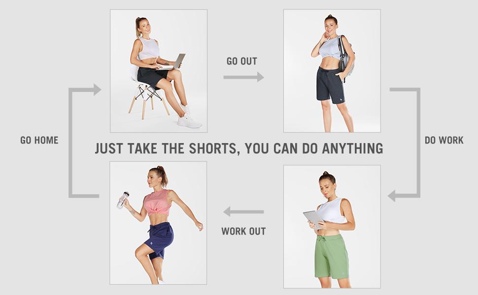 womens casual shorts