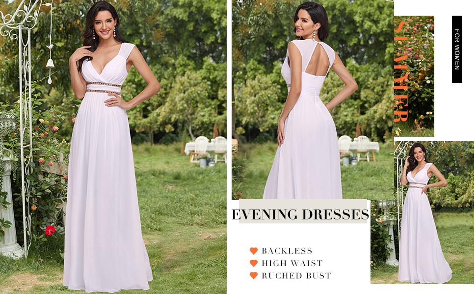 Ever-Pretty womens evening dress dance dress summer party dress beach dress wedding guest dress