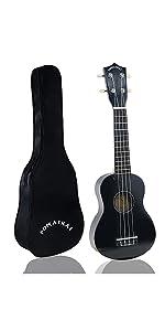 Black Ukulele