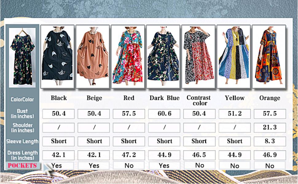 boho maxi dress cotton linen dress loose dress vitnage dress beach dress