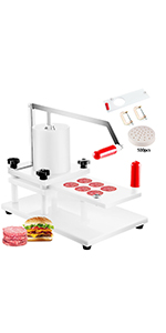 commercial burger press patty maker 5 inch manual hamburger press patty maker machine