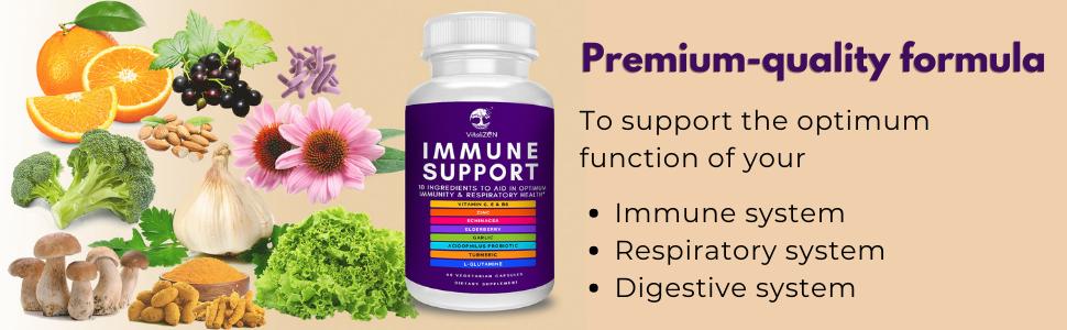 Immune support supplement, immunity booster, immune system booster, immune system supplement