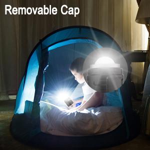 removable cap