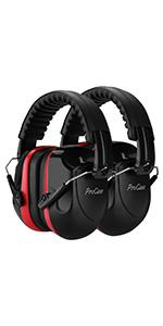 Noise Reduction Ear Muffs 2 Pack