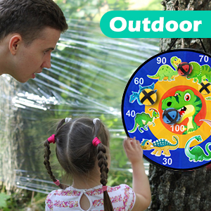 dart board games 20 sticky ball toys for kids 3-12 years old family sports outdoor games