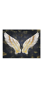 RyounoArt Angel Wing Painting