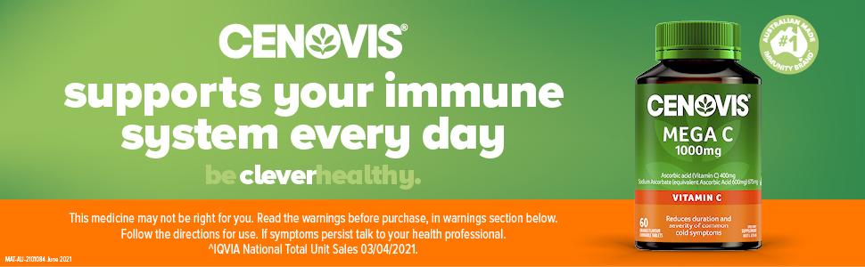 Cenovis; Cenovis Mega C 1000mg; Cenovis Vitamin C; Vitamin C tablets; Vitamin C supplements