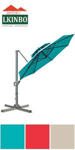 11FT Umbrella Blue