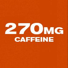 270mg caffeine