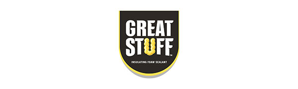 This Gaps & Cracks insulating foam sealant from Great Stuff helps seal in and around your home.