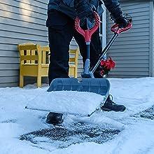 ergo snow shovel ergonomic snow shovel plastic snow shovel poly snow shovel snow thrower blower