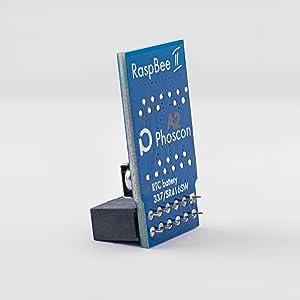 RaspBee II diagonalt med batteriet