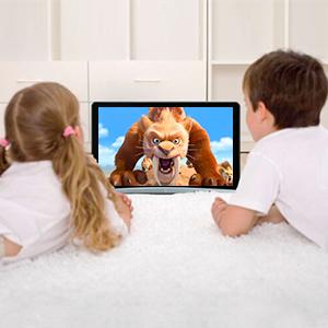 Car tv Headrest monitor Car Headrest tv for kids Android tablet