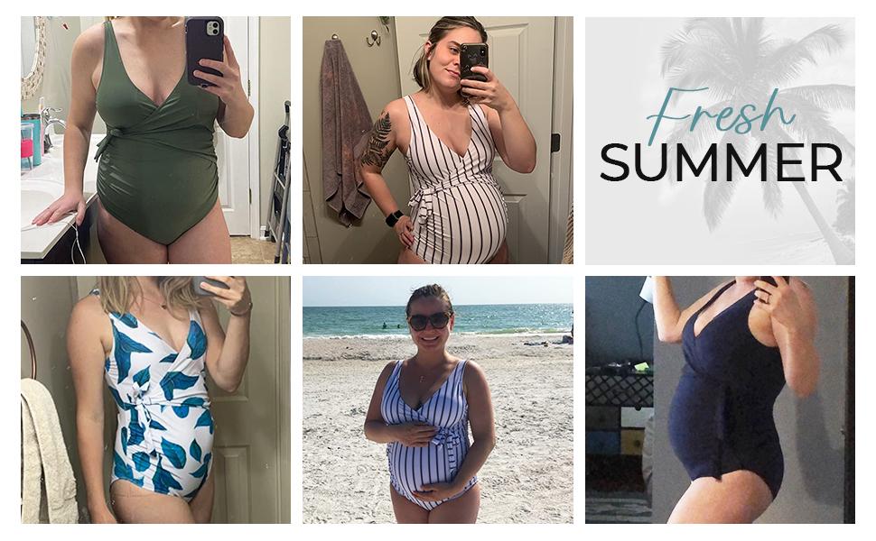 fashion pregnancy swimsuit