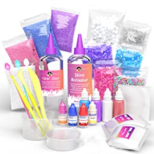 Kit Slime unicornio DIY Manualidades niñas niños regalo cumpleaños mini magico fluffy