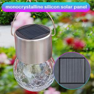outdoor solar hanging lights