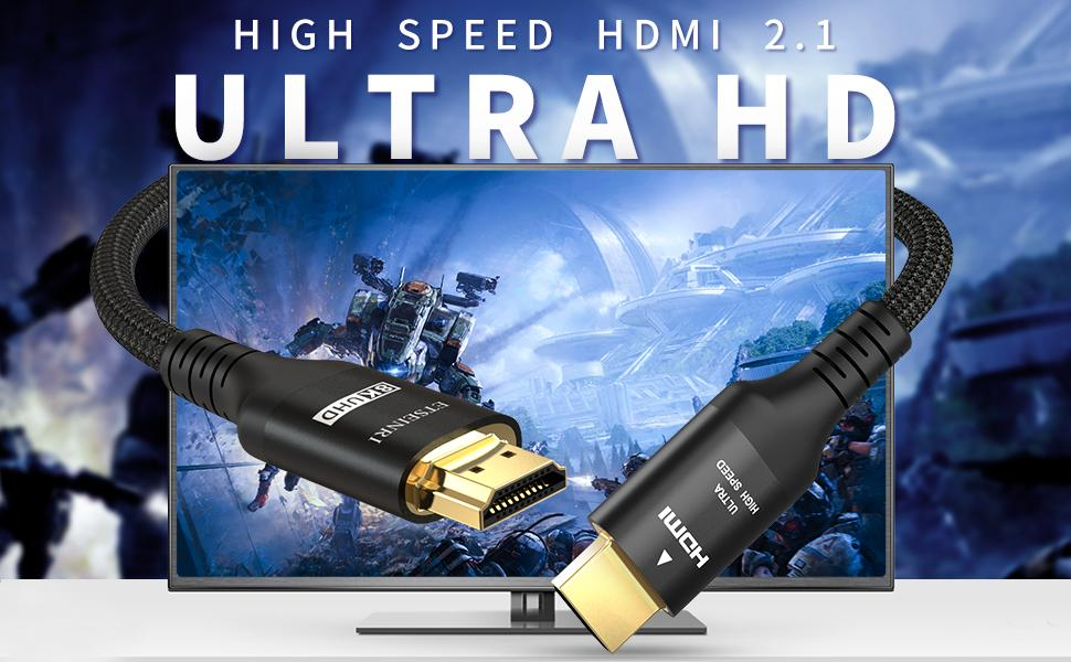 The Advantage of this Ultra High Speed HDMI Cable.
