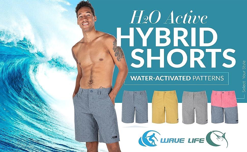 mens hybrid shorts