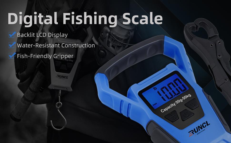 waterproof fishing scale