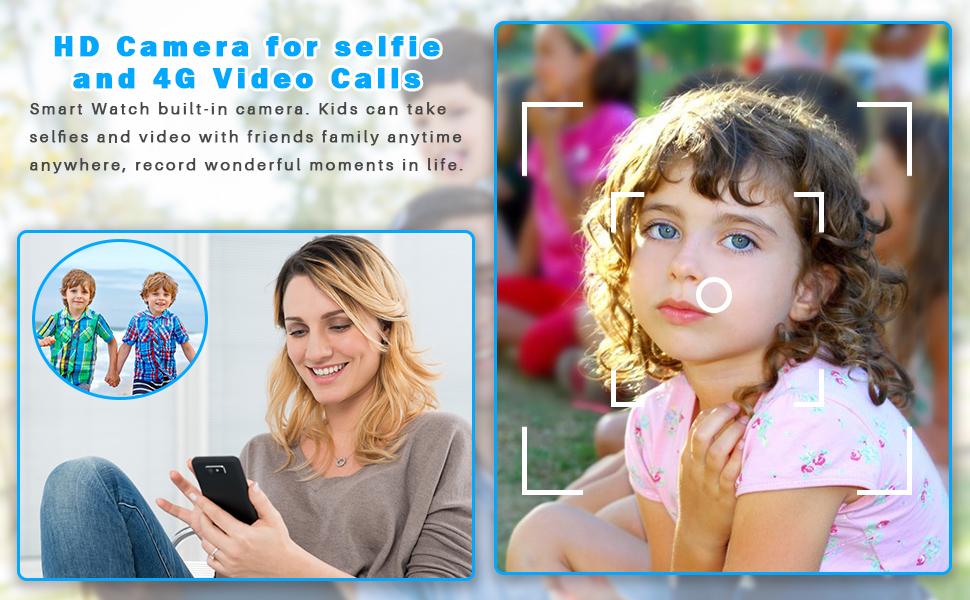 HD Camera /4G Video Calls