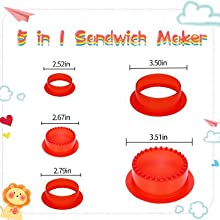 sandwich cutters for kids sandwich cutter and sealer bento box cutters crustys all stars sandwich