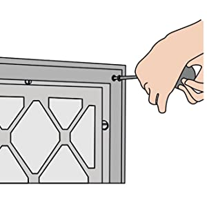 How to measure a return grille