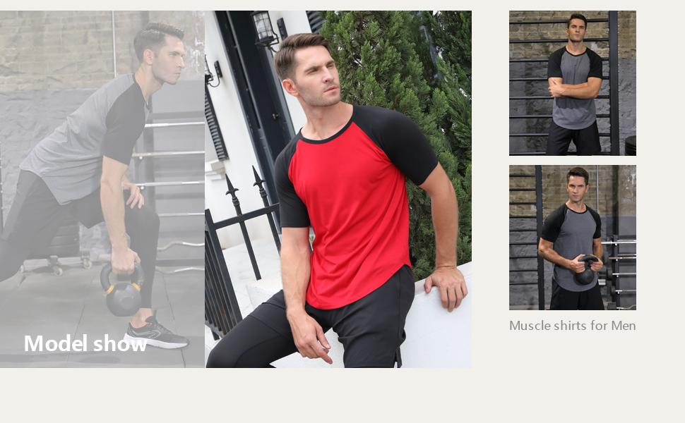 Mens athletic shirts