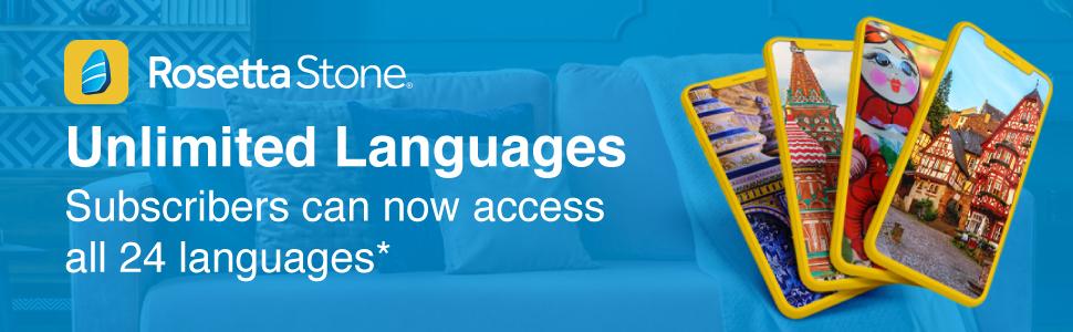 Rosetta Stone Unlimited Languages